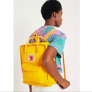 NWT Fjallraven Backpack in Saffron/Yellow 🌻